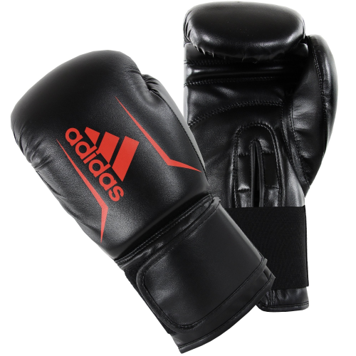 Adidas Speed 50 Boxing Gloves - Black/Red